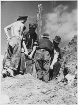 New Deal workers accomplished wonders using mostly hand tools and mules.