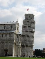 Leaning Tower of Pisa by  Samuli Lintula, April 2006.